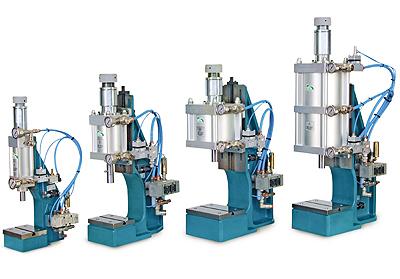 Pneumatic presses kN 1÷ 20